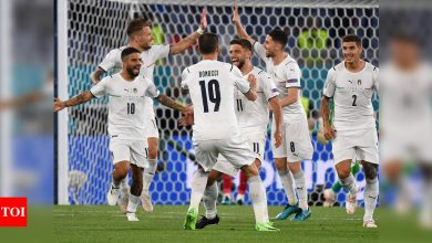 Italy open Euro 2020 with 3-0 win over Turkey | Football News - Times of India