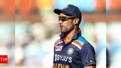 It's a new challenge: Shikhar Dhawan eyes success in maiden outing as India captain   Cricket News - Times of India