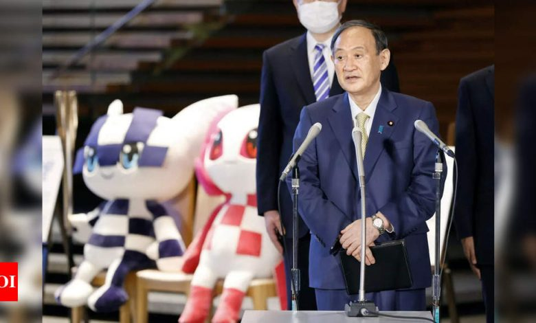 Japan lifting virus emergency one month before Olympics - Times of India