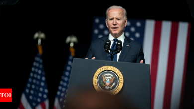Joe Biden to route US border wall funds to military and construction site clean up - Times of India