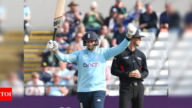 Joe Root guides England to five-wicket win over Sri Lanka in ODI series opener | Cricket News - Times of India
