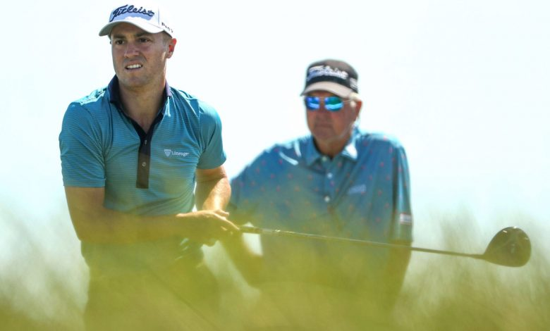 Justin Thomas' dad strives for different kind of bond with son