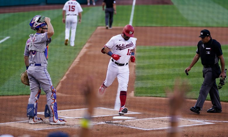 Kyle Schwarber torments Mets again as Nationals become NL East threat