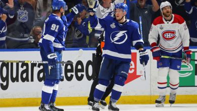 Lightning pummel Canadiens in Game 1 of Stanley Cup Final