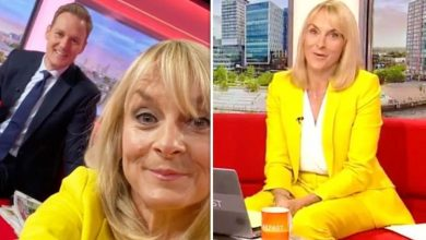 Louise Minchin reacts to Dan Walker's tearful post about her BBC exit 'Always had my back'