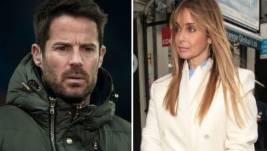 Louise Redknapp 'hurt' by ex Jamie's baby news says pal amid 'soured friendship' claim