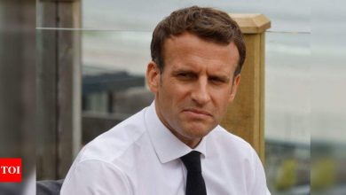 Macron calls for easing of supply of ingredients for production of Covid vaccines to India, others - Times of India