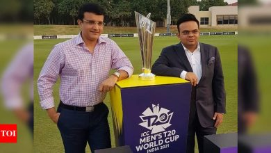 May shift T20 World Cup to UAE due to COVID-19 situation: BCCI secretary Jay Shah | Cricket News - Times of India