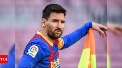 Messi's future up in the air as Barcelona contract ends   Football News - Times of India