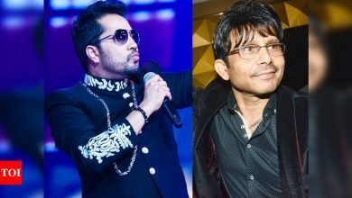 Mika Singh slams KRK: Making personal comments about Salman Khan, Disha Patani is too vulgar - Times of India