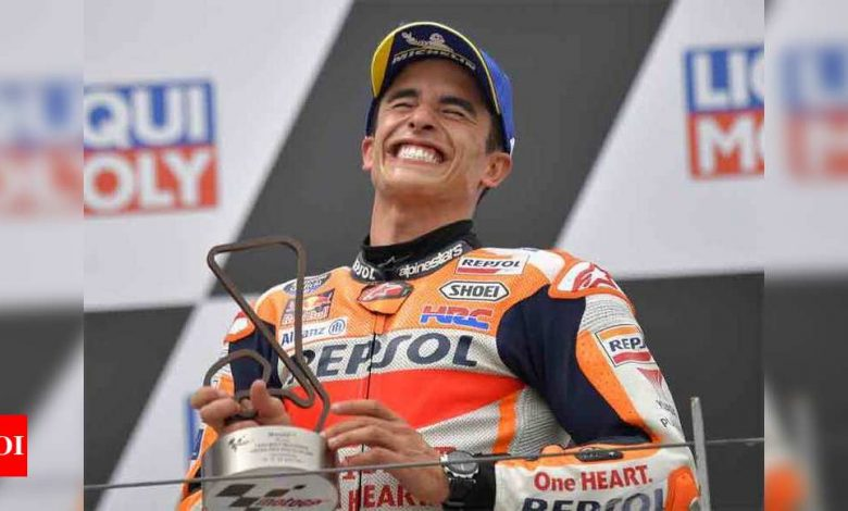 MotoGP: Marquez back to winning ways in Germany | Racing News - Times of India