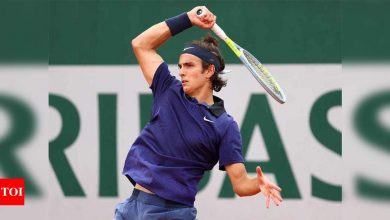 Musetti, 19, makes French Open last 16 on Grand Slam debut | Tennis News - Times of India