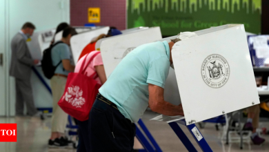 NYC Mayoral Election 2021: A last push, then a long wait in NYC mayoral election   World News - Times of India
