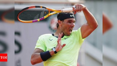Nadal overcomes tough Schwartzman test to reach 14th French Open semis | Tennis News - Times of India