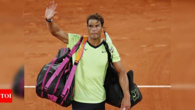 Nadal pulls out of Wimbledon and Tokyo Olympics   Tennis News - Times of India