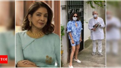 Neena Gupta: Should I bother about just the 3 people who criticised the outfit I wore to Gulzar sahab's house?- Exclusive! - Times of India