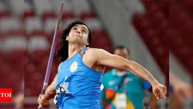 Neeraj Chopra's training-cum competition stint in Europe delayed by a few days: SAI | More sports News - Times of India
