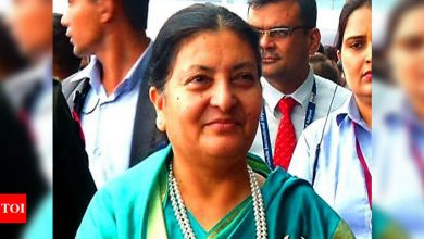 Nepal House dissolution case: President Bhandari says Supreme Court cannot overturn her decision - Times of India
