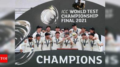 New Zealand beat India to win inaugural World Test Championship   Cricket News - Times of India