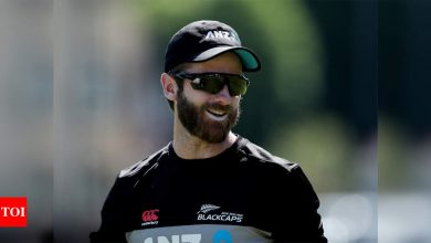 New Zealand captain Kane Williamson out of 2nd Test against England   Cricket News - Times of India