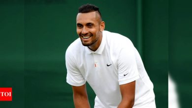 Nick Kyrgios wants to be 'better player and person' at Wimbledon | Tennis News - Times of India