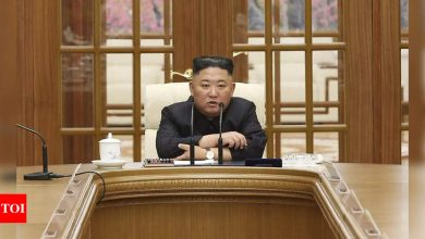 North Korea's Kim appears in public for the first time in month - Times of India