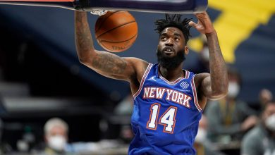 Norvel Pelle is on a mission to stick with the Knicks