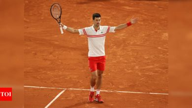 Novak Djokovic defeats 13-time champion Rafael Nadal in 'greatest' French Open display | Tennis News - Times of India