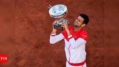 Novak Djokovic makes history with 19th Grand Slam title in epic French Open final | Tennis News - Times of India