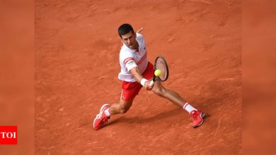 Novak Djokovic survives French Open scare before teenager Lorenzo Musetti quits | Tennis News - Times of India