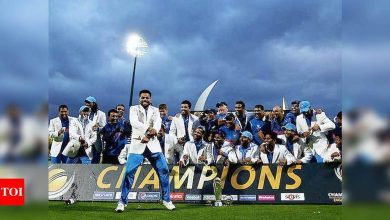 On this day in 2013: MS Dhoni-led India won the Champions Trophy | Cricket News - Times of India