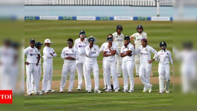One-off Test: India Women fight back through spinners at Bristol   Cricket News - Times of India