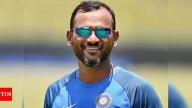 Our playing XI was picked taking conditions out of equation: Fielding coach R Sridhar rules out change | Cricket News - Times of India