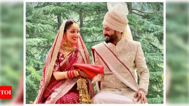 Photo: Yami Gautam and director Aditya Dhar tie the knot in an intimate wedding ceremony - Times of India
