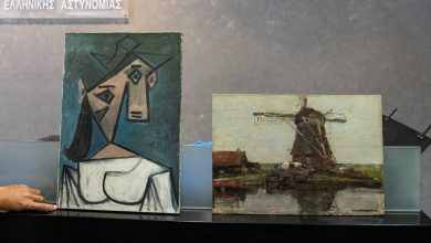 Picasso, Mondrian works returned after 2012 construction worker heist