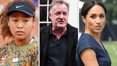 Piers Morgan slammed for furious Naomi Osaka rant after comparing star to Meghan Markle