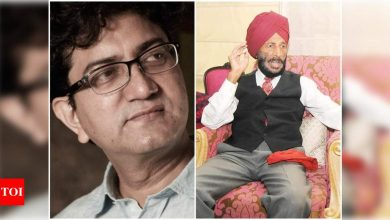 Prasoon Joshi on late Milkha Singh: His laughter will always remain with me - Times of India