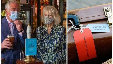Prince Charles packs 'discreet' hand luggage tipple in case of 'danger'