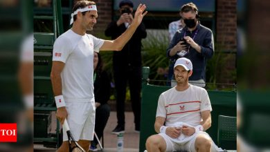 Returning Andy Murray savours practice with Roger Federer at Wimbledon | Tennis News - Times of India