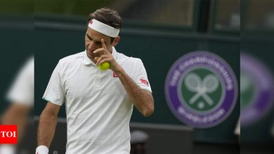 Roger Federer gets lucky on Mannarino's birthday at Wimbledon   Tennis News - Times of India