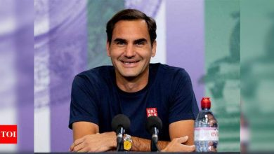 Roger Federer ready to get on a roll at Wimbledon | Tennis News - Times of India