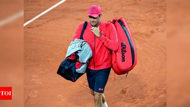 Roger Federer withdraws from French Open with Wimbledon in mind   Tennis News - Times of India