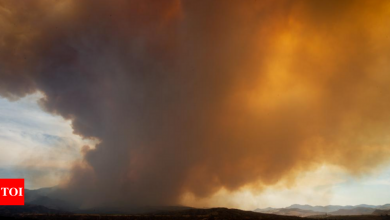 Rural Arizona residents wait as wildfire spreads uncontained - Times of India