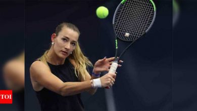 Russia's Sizikova released from police custody after match-fixing allegations   Tennis News - Times of India