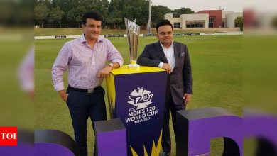 Safety of players, other stakeholders of paramount importance: Sourav Ganguly on shifting T20 WC to UAE | Cricket News - Times of India