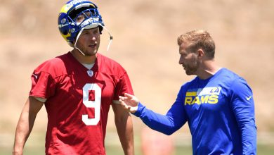 Sean McVay happier now that Matthew Stafford is in Rams' fold