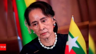 Sedition trial of Myanmar's Suu Kyi set to begin - Times of India