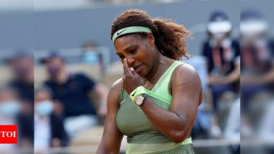 Serena Williams knocked out of French Open by Elena Rybakina as quest for 24th Slam goes on   Tennis News - Times of India