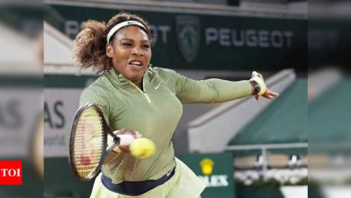 Serena Williams looks to take advantage of open draw at Roland Garros   Tennis News - Times of India