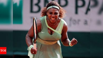 Serena Williams powers into French Open fourth round to boost record hopes   Tennis News - Times of India